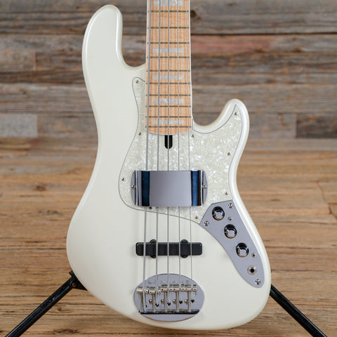 Lakland Skyline Darryl Jones Signature DJ-5 White 2006 (s752)