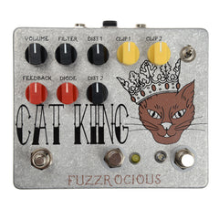 Fuzzrocious Cat King Dual Distortion w/Momentary Feedback