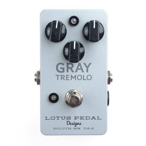 Lotus Pedal Designs Gray Tremolo