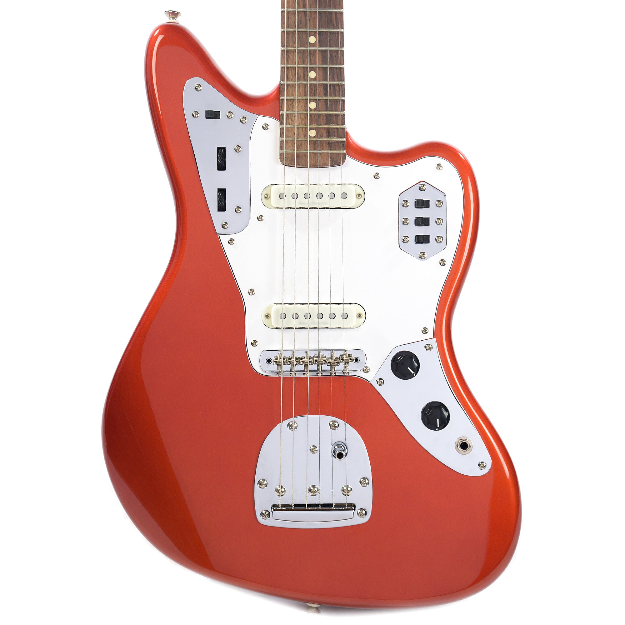 My eb bass squier vintage modified jazz bass - Squier Vintage Modified Jaguar Candy Apple Red