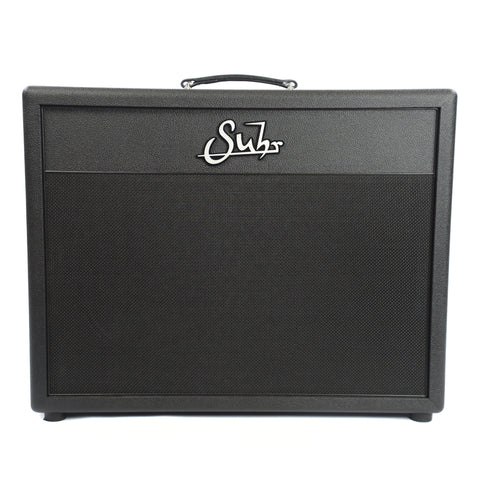 Suhr Pete Thorn 2x12 Deep Cabinet Black Tolex and Grill Celestion Creambacks