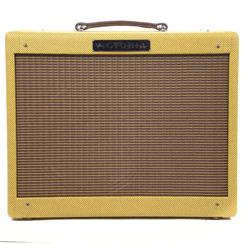 Victoria Vicky Verb Jr. Tweed 1x12 Combo w/Reverb