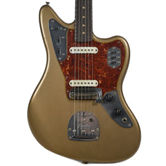 Fender Custom Shop 1962 Jaguar Journeyman Relic RW Faded Shoreline Gold w/Lollar Pickups & Painted Headcap (Serial #R89043)