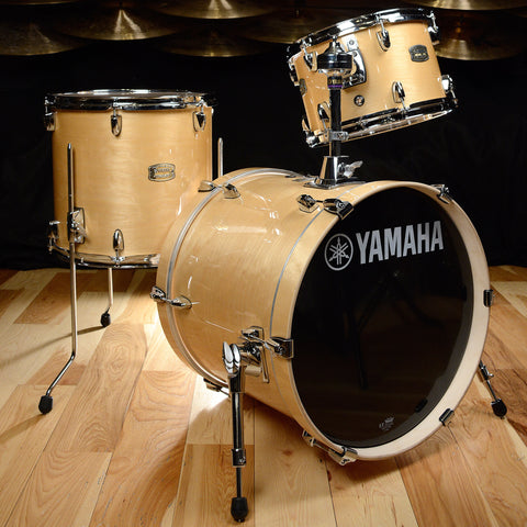 Yamaha Stage Custom Birch Bebop 12/14/18 3pc Kit Natural Wood