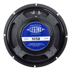 "Eminence Legend 1058 10"" 8ohm 75W Guitar Speaker"