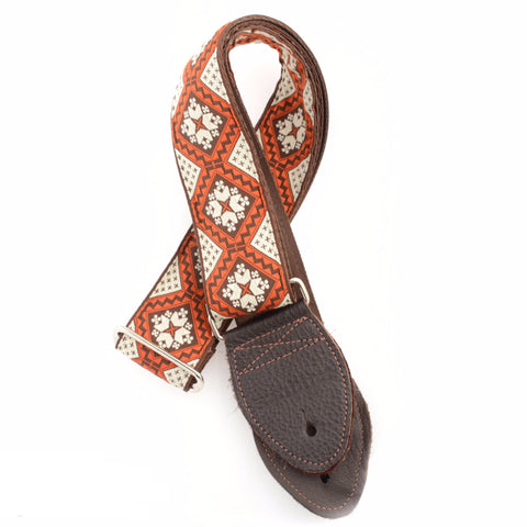 Souldier Rustic Brown White Orange (Brown Belt & Ends)