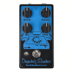Earthquaker Devices Dispatch Master Digital Delay & Reverb Limited Edition Black/Blue v2