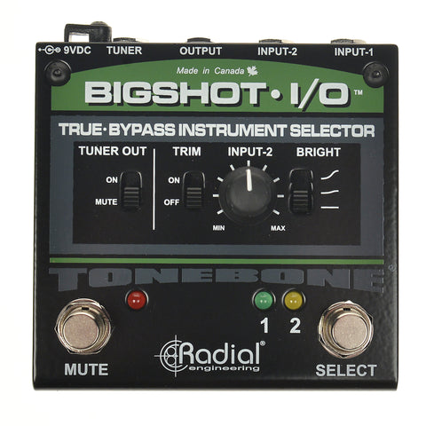 Radial Big Shot I/O Instrument Selector V2