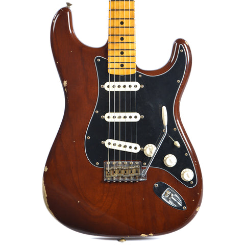 Fender Custom Shop 1974 Stratocaster Ash Relic MN Faded Walnut (Serial #R86276)