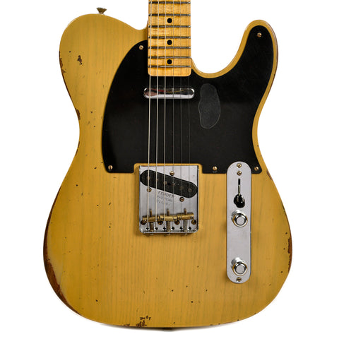 Fender Custom Shop 1954 Telecaster Ash Relic MN Aged Butterscotch Blonde (Serial #R16207)