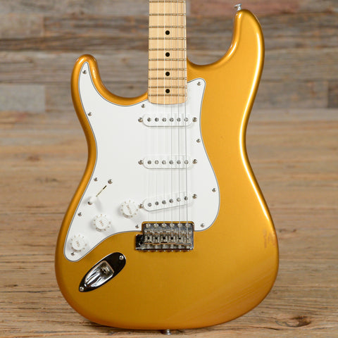 Fender Custom Shop 1956 Stratocaster Metallic Caramel Left-Handed USED (s369)