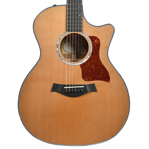 Taylor Custom 400 Series Grand Auditorium Cedar Blackwood (Serial #1101277096)