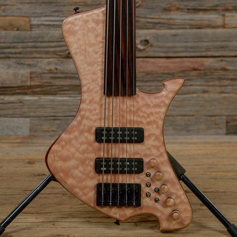 Le Compte 5-String Fretless Bass Natural USED