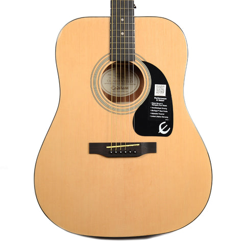 Epiphone DR-100 Dreadnought Acoustic Natural