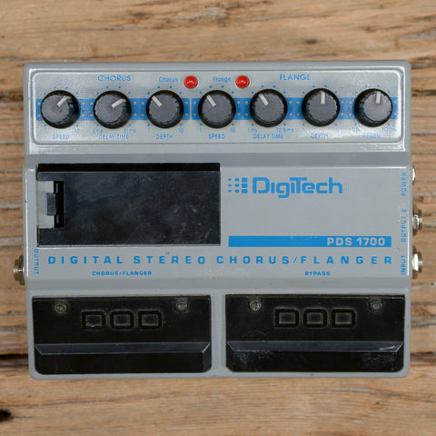 DigiTech PDS1700 Digital Stereo Chorus/Flanger 1980s USED