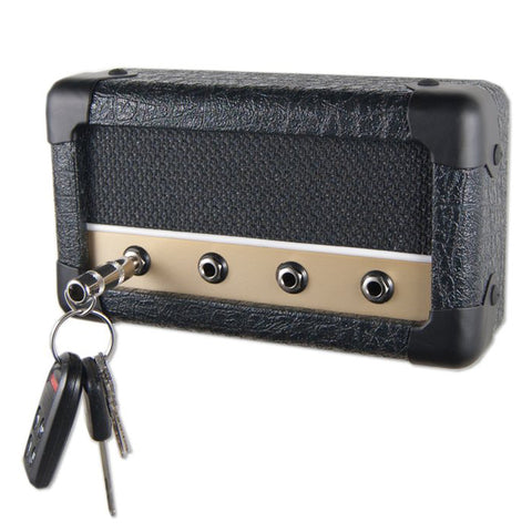 DropLight Combo Series Dillon Guitar Amp Wall Mounted Key Holder w/4 Keychains