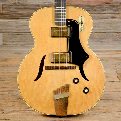 Supro Hollowbody Natural 1950s (s270)