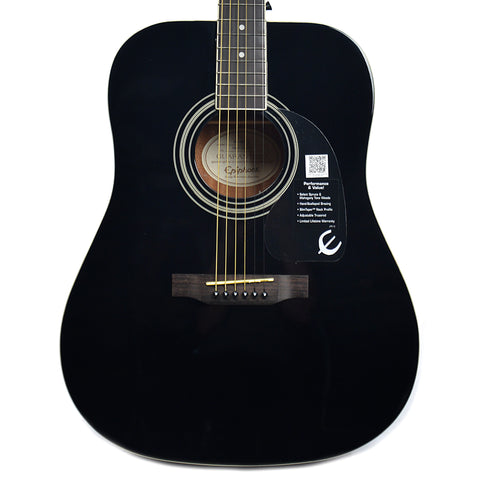Epiphone DR-100 Dreadnought Acoustic Ebony