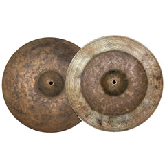 "Byrne Quarter Turk Rustic Series 14"" Hi Hats 1041/1156 Grams"