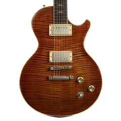 Scala Underdog Premium Flame Maple Top and One Piece Mahogany Body Tiger Eye(Serial #16185)