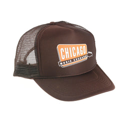 Chicago Music Exchange Trucker Hat Brown