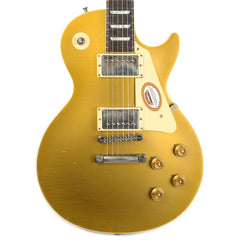 Gibson Custom Shop True Historic 1957 Les Paul Goldtop Reissue Murphy Aged Vintage Antique Gold NH (Serial 76159)
