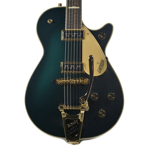 Gretsch G6128T-57-CDG Vintage Select Edition 57 Duo Jet Cadillac Green w/Bigsby & TV Jones Pickups