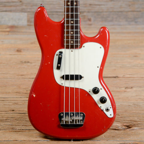 Fender Musicmaster Bass Dakota Red 1975 (s768)