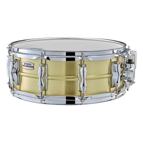 Yamaha 5.5x14 Recording Custom Brass Snare Drum, 1.2mm Shell