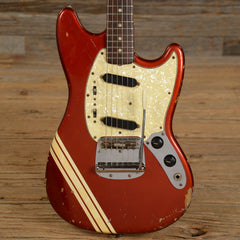 Fender Mustang Competition Red 1972 (s692)