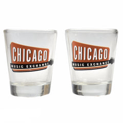 Chicago Music Exchange Shot Glass 2-Pack