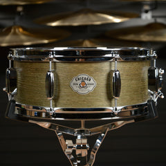 C&C 5.5x14 Signature CDE Player Date Maple/Oak Snare Drum Olive