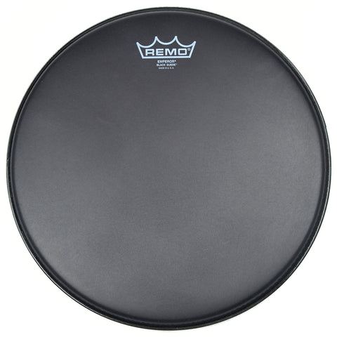 Remo 13 Inch Batter Black Suede Emperor Drum Head