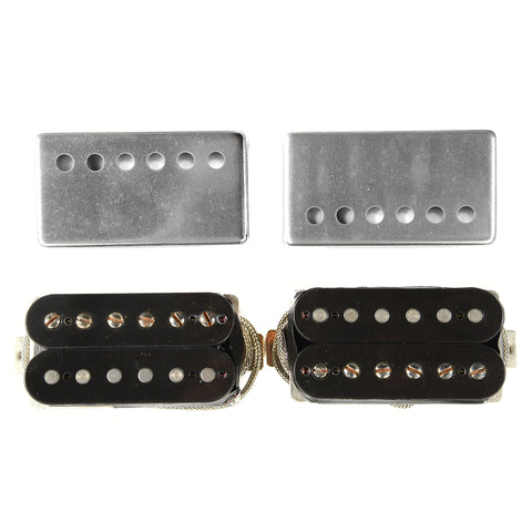 Seymour Duncan Custom Shop Joe Bonamassa Skinner Burst Black Humbucker Set