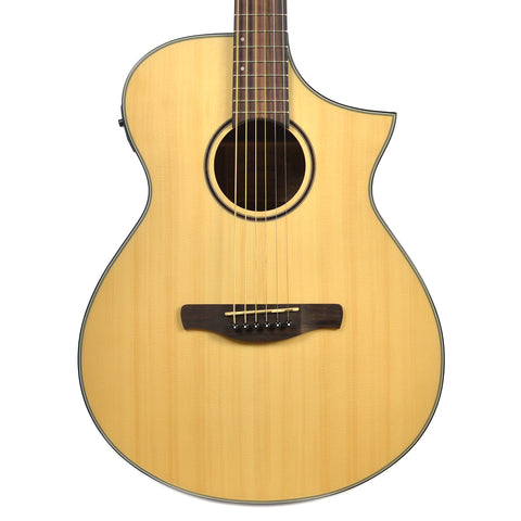 Ibanez AEWC24MB Open Pore Natural Acoustic Guitar