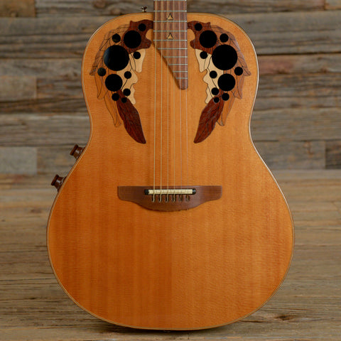 Ovation Elite 1537 Natural 1983 (s748)