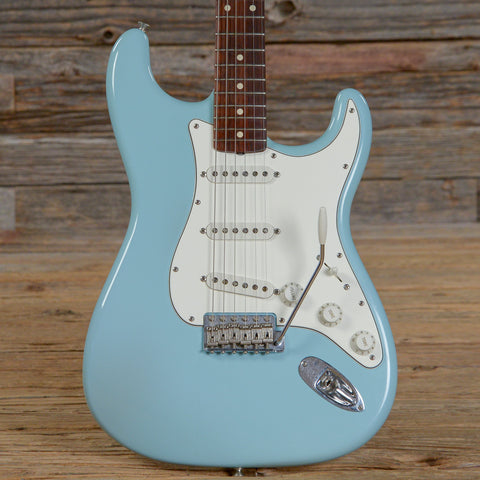 Fender Custom Shop 1960 Stratocaster Closet Classic Daphne Blue 2007 (s133)