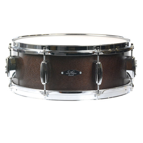 C&C 5.5x14 Player Date 1 Snare Drum Walnut Stain
