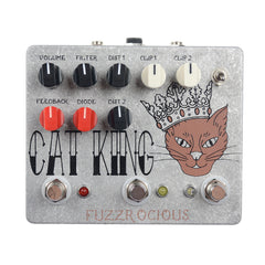 Fuzzrocious Cat King Dual Distortion w/Latching Feedback