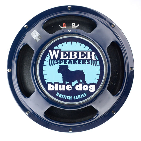 Weber British Series Blue Dog 12A Alnico Magnet Speaker 12