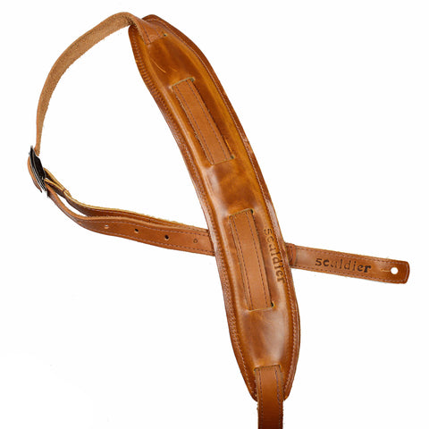 Souldier Saddle Strap Plain Tan Strap & Tan Pad