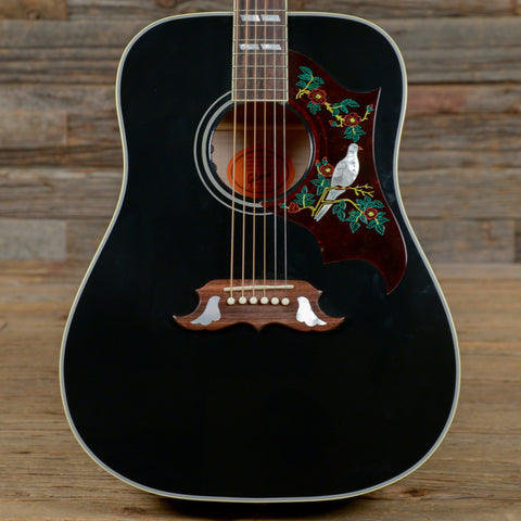 Gibson Montana Dove Ebony Special Sitka/Maple w/LR Baggs Element VTC Limited Edition of 50 USED (s040)