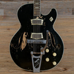 Silvertone Model 1446 Chris Isaak Black 1960s