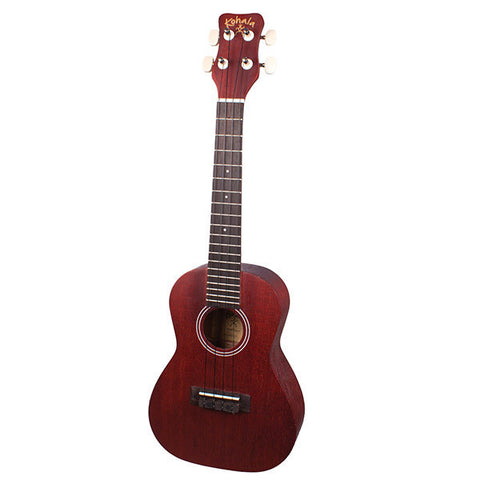 Kohala KPP-C Concert Ukulele Player Pack w/Gig Bag and Tuner
