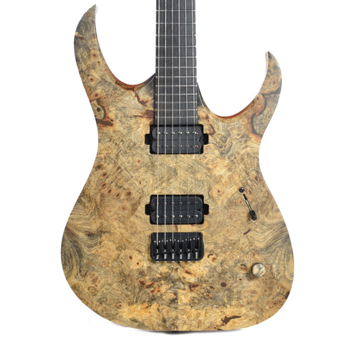 Mayones Duvell Elite Buckeye Burl Master Builder Collection