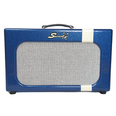 Swart MOD84 w/Celestion Gold Alnico Speaker & Blue Sparkle White Stripe
