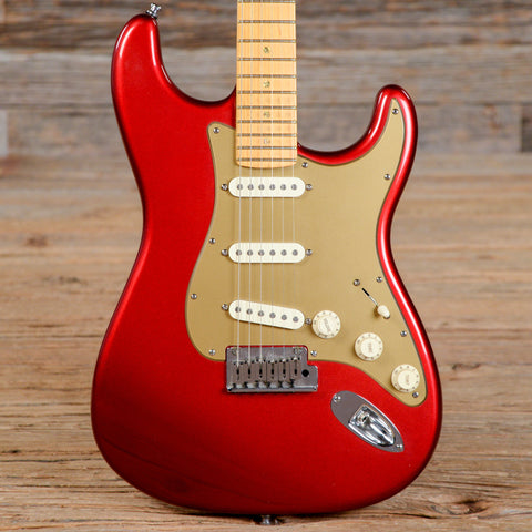 Fender American Deluxe Stratocaster Candy Apple Red 2009 (s990)