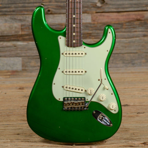 Fender Custom Shop '63 Stratocaster Journeyman Relic Candy Green 2016 (s167)