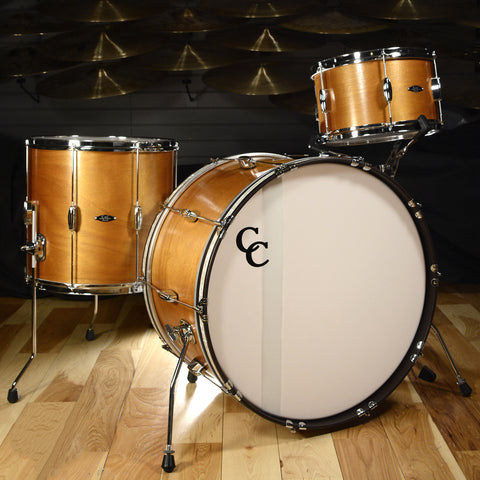 C&C Player Date 1 3pc Big Band Drum Kit 13/16/24 Honey Lacquer
