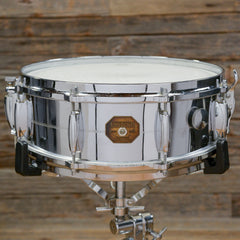Gretsch 5x14 Chrome Over Brass Snare Drum 1971